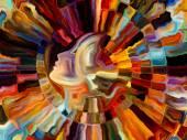 Vibrant Inner Paint — Stock fotografie