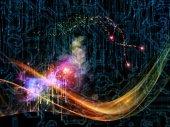 Magic of Technology — Stock Photo