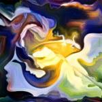 Metaphorical Inner Paint — Stock Photo #65563331
