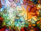 Illusions of Stained Glass — Zdjęcie stockowe