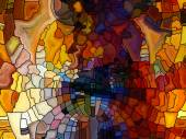 Virtual Stained Glass — ストック写真