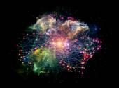 к цифровой сети — Стоковое фото
