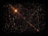 Exploding Network — Zdjęcie stockowe