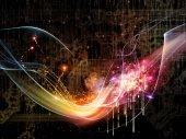 Komplizierte technologie — Stockfoto