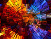Stained Glass Abstraction — Stock Photo