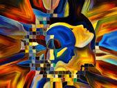 Arayışı içinde iç boya — Stok fotoğraf