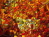 Realms of Stained Glass — Stock Photo