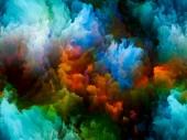 Virtual Color — 图库照片