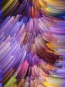 Petals of Color — Fotografia Stock