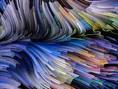 Virtuelle Farbe — Stockfoto