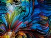 Wizualizacja cyfrowy kolor — Zdjęcie stockowe