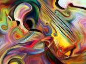 Sinergie di musica — Foto Stock