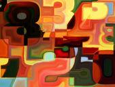 Computing Color — Foto Stock