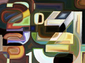 Artificial Color — Stock Photo