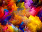 Advance of Color — Stock Photo