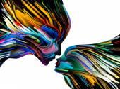 Metaphorical Mind Painting — Stock Photo