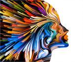 Mind Painting Backdrop — Stock Photo