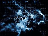 Virtualization of Data Cloud — Stock Photo