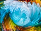Waves of Color — Stock Photo