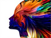 Mind Painting Abstraction — Stock Photo