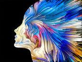 Mind Painting Background — Stock Photo