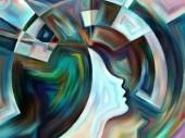 内部ジオメトリのソース — ストック写真