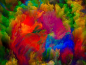 Visualization of Digital Color — Stock Photo
