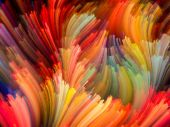 Exploding Color — Stock Photo