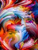 元素的颜色 — 图库照片