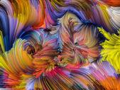 Dijital renkli görselleştirme — Stok fotoğraf