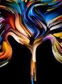 Barva květu — Stock fotografie