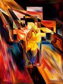 十字架の光 — ストック写真