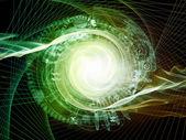 Émergence de la géométrie sacrée — Photo