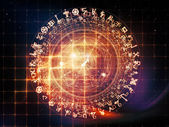 Visualization of Sacred Geometry — Stock Photo