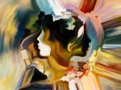 слои внутренней краски — Стоковое фото