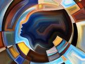 Vision of Inner Geometry — Stock Photo