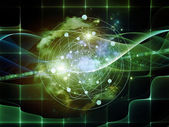 Elements of Abstract Visualization — Stock Photo