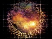 Layers of Abstract Visualization — Stock Photo