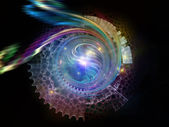 Diversity of Abstract Visualization — Stock Photo