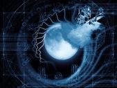 Zodiac of the Moon — Stock Photo