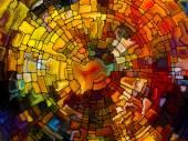 Målat glas bakgrund — Stockfoto