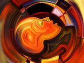 Paradigma della geometria interna — Foto Stock
