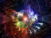 Energy of Abstract Visualization — Stock Photo