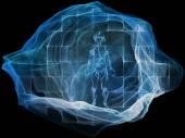 Conceptual Dream Particle — Stock Photo