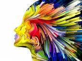 Evolving Mind Painting — Stock Photo