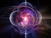 Acceleration of Abstract Visualization — Stock Photo