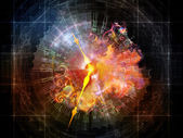 Quickening of Abstract Visualization — Stock Photo