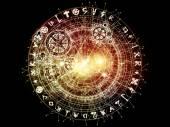 Sacred Geometry Burst — Stock Photo