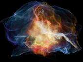 Geist-Particle-Zusammensetzung — Stockfoto