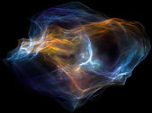 Accélération de la particule d'esprit — Photo